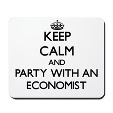 Keep Calm and Party With an Economist Mousepad