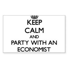 Keep Calm and Party With an Economist Decal
