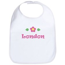 "Pink Daisy - ""London"" Bib"