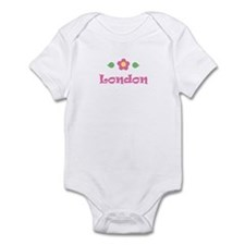 "Pink Daisy - ""London"" Infant Bodysuit"