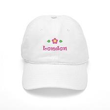 """Pink Daisy - """"London"""" Baseball Cap"""