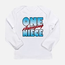 One Amazing Niece Long Sleeve Infant T-Shirt