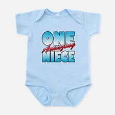 One Amazing Niece Infant Bodysuit