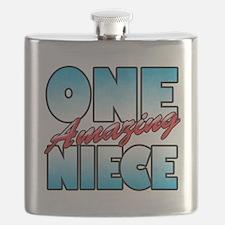 One Amazing Niece Flask