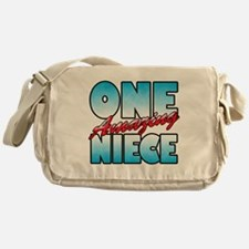 One Amazing Niece Messenger Bag