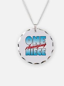 One Amazing Niece Necklace