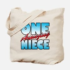 One Amazing Niece Tote Bag
