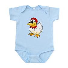 Cartoon Chicken Infant Bodysuit