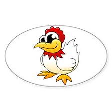 Cartoon Chicken Decal