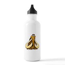 Cartoon Woolly Mammoth Water Bottle