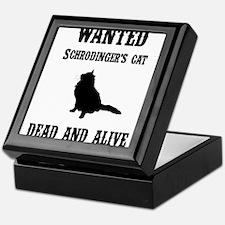 Schrodinger's Cat Keepsake Box