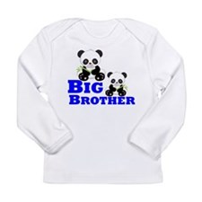 Big Brother Panda Long Sleeve T-Shirt