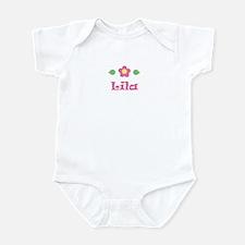 """Pink Daisy - """"Lila"""" Infant Bodysuit"""