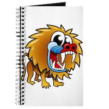 Cartoon Baboon Journal