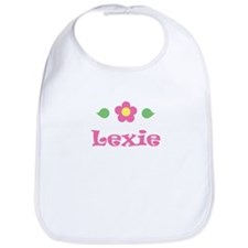 "Pink Daisy - ""Lexie"" Bib"