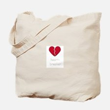 Cute Broken heart Tote Bag