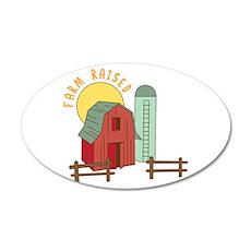 Farm Raised Wall Decal