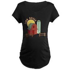 Farm Raised Maternity T-Shirt