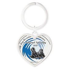 National 2013 Heart Keychain
