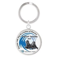 National 2013 Round Keychain