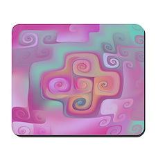 """Pastel"" Fractal Art Mousepad"
