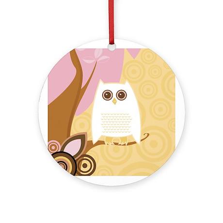 Snowy Owl - Ornament (Round)