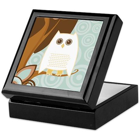 Snowy Owl - Keepsake Box