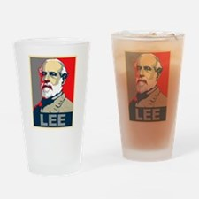 Robert E. Lee Drinking Glass