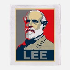 Robert E. Lee Throw Blanket