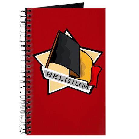 """""""Belgium Star Flag"""" Journal"""
