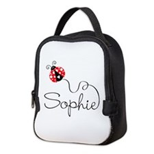 Ladybug Sophie Neoprene Lunch Bag