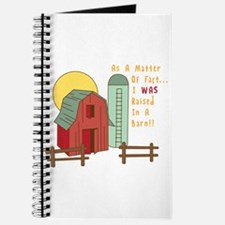 Raised in a Barn Journal