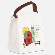 Raised in a Barn Canvas Lunch Bag