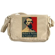 Forrest for President Messenger Bag