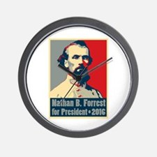 Forrest for President Wall Clock