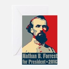 Forrest for President Greeting Card