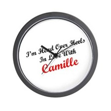In Love with Camille Wall Clock