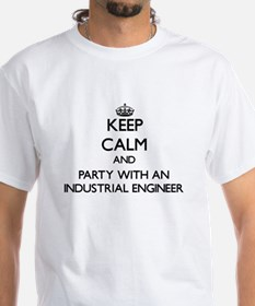 Keep Calm and Party With an Industrial Engineer T-