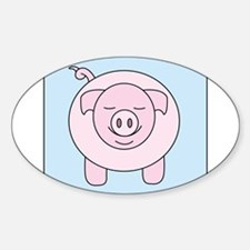 Pink Pig Decal