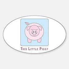 This Little Piggy Decal