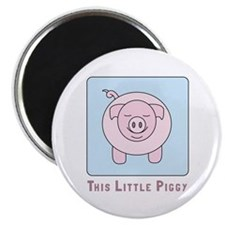 This Little Piggy Magnets