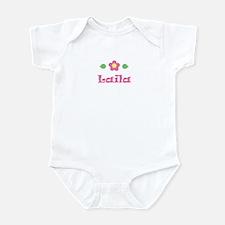 "Pink Daisy - ""Laila"" Infant Bodysuit"