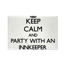 Keep Calm and Party With an Innkeeper Magnets
