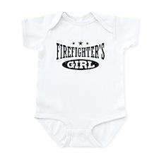 Firefighter's Girl Infant Bodysuit