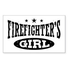 Firefighter's Girl Decal