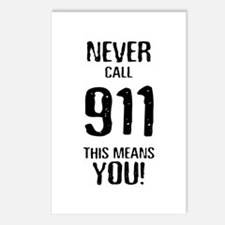 911 Postcards (Package of 8)