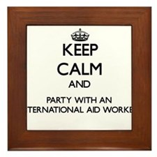 Keep Calm and Party With an International Aid Work
