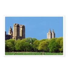 Central Park, NYC Postcards (Package of 8)