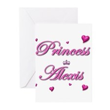 Princess Alexis Greeting Cards (Pk of 10)