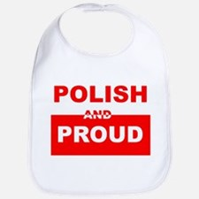 POLISH AND PROUD T-SHIRT Bib